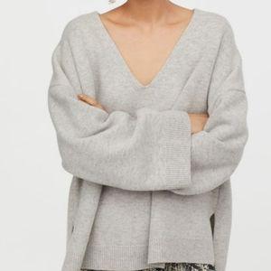 Oversized 100% Wool Sweater M